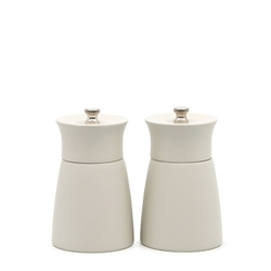 GRIND Alder Salt and Pepper Mill Set - 2-Piece - 10.5cm - Stone