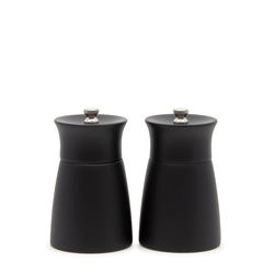 GRIND Alder Salt and Pepper Mill Set - 2-Piece - 10.5cm - Black