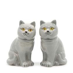 ANIMALIA Salt and Pepper Set - Set of 2 - British Short Hair