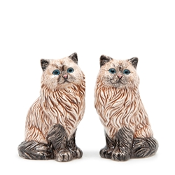 ANIMALIA Salt and Pepper Set - Set of 2 - Tabby