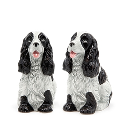 ANIMALIA Salt and Pepper Set - Set of 2 - Cocker Spaniel