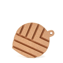 Strand Trivet & iPad Holder - 18x23cm - Cork