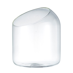 STRAND Salt Cellar - 15cm - Glass