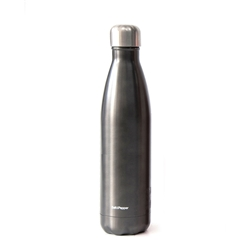 Hydra Water Bottle - 750ml - Gunmetal Black