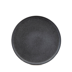 Hue Side Plate - 20cm - Black