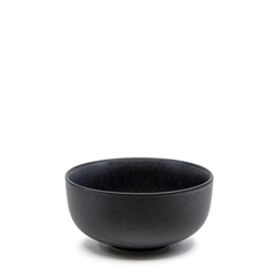Hue Rice Bowl - 12cm - Black