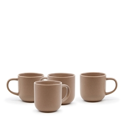 HANA Mug Set - Set of 4 - 380ml - Natural