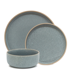 HANA Dinner Set - 12-Piece - Blue