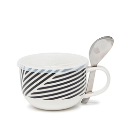 LUNCH2GO Soup Mug with Spoon - 250ml - Deco