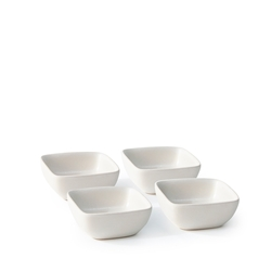 MAJOR Condiment Dish Set - 4 Piece - 7cm - Natural
