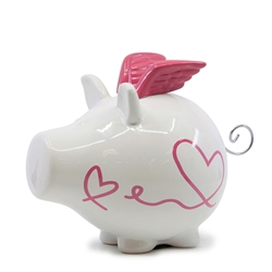 OINK Money Box - 23cm - Valentine