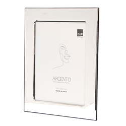 "ARGENTO Photo Frame - Beaten - 7x9""/18x24cm"