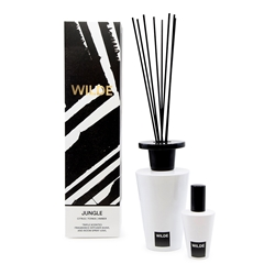 WILDE JUNGLE Diffuser and Room Spray Set - Citrus, Tonka & Amber - 300ml/ 50ml