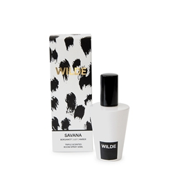 WILDE SAVANNA Room Spray - Bergamot, Lilly, Amber - 50ml