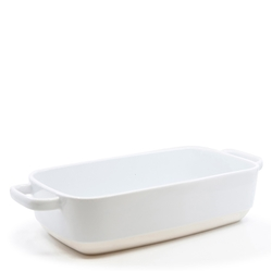 Beacon Rectangle Baking Dish - 34cm  - White