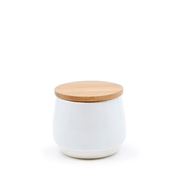 Beacon Sugar Bowl - 10x9cm - White