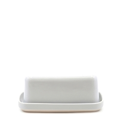 BEACON Butter Dish - 17cm - White