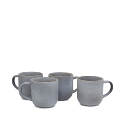 Hana Mug Set - 4-Piece - 380ml - Sky