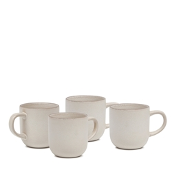 HANA Mug Set - 4-Piece - 380ml - Ivory