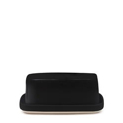 BEACON Butter Dish - 17cm - Black