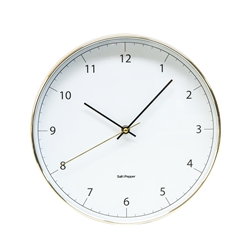 Blair Wall Clock - 31cm - White