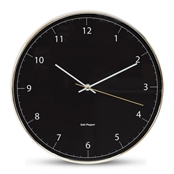 Blair Wall Clock - 31cm - Black