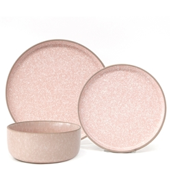 HANA Dinner Set - 12-Piece - Coral