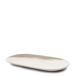 Roam Rectangle Serving Platter - 29cm - Natural