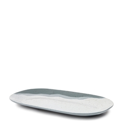 Roam Rectangle Serving Platter - 29cm - Blue