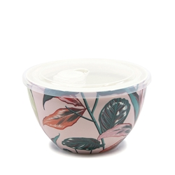 LUNCH2GO Bowl with Lid - 15cm - Paradise