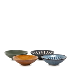 OSAKA Condiment Dish Set - 4-Piece - 8cm