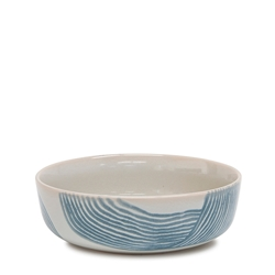 SKETCH Bowl - 18x6cm - Blue
