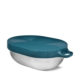 HIP Stainless Steel Salad Bowl - 1.1 Litre - Jade