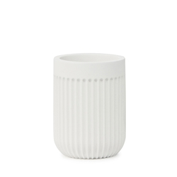 Cult Toothbrush Tumbler - 10cm - White
