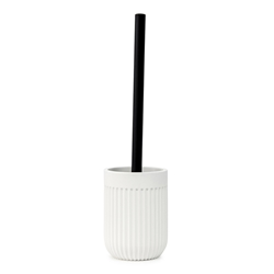 Cult Toilet Brush and Holder - 35.5cm - White