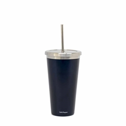 Hydra Cup with Straw - 570ml - Metallic Oceania