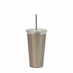 Hydra Cup with Straw - 570ml - Metallic Mink
