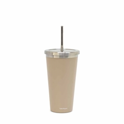 Hydra Cup with Straw - 570ml - Soft Clay