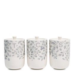Neri Canister Set - 14cm - Set of 3 - Cloud