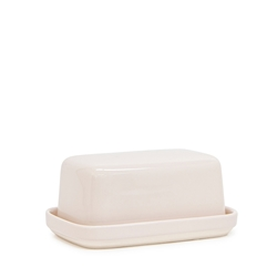 Beacon Butter Dish - 17cm - Pink