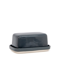 Beacon Butter Dish - 17cm - Carbon