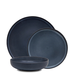 Hue Dinner Set - 12 Piece - Midnight