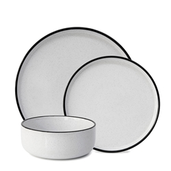 Hana Dinner Set - 12 Piece - Bistro
