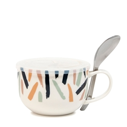 Lunch2Go Soup Mug with Spoon - 520ml - Scribe
