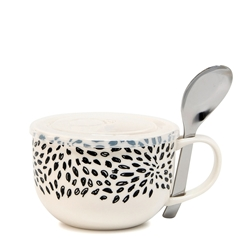 Lunch2Go Soup Mug with Spoon - 520ml - Burst