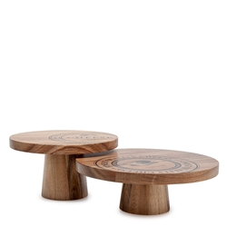 Fromage Serving Stands - Set of 2