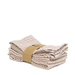 Arlo Napkin - 45cm - Set of 4 - Soft Clay