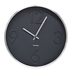 Landon Clock - 31cm - Grey