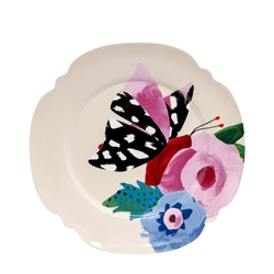 Willow Plate - 20cm - Poppy