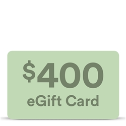 $400 eGift Card